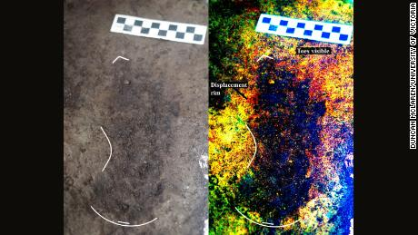 Photo of Fossilized human footprints found in Tanzania