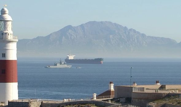 Photo of Gibraltar crisis: Royal Navy escorts Spanish vessel from British waters