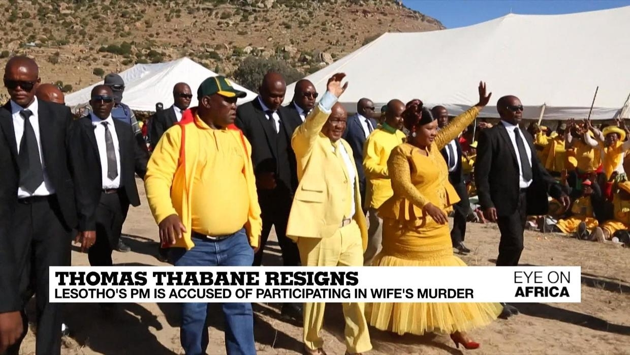Photo of Thomas Thabane resigns: Lesotho's PM is accused of participating in wife's murder