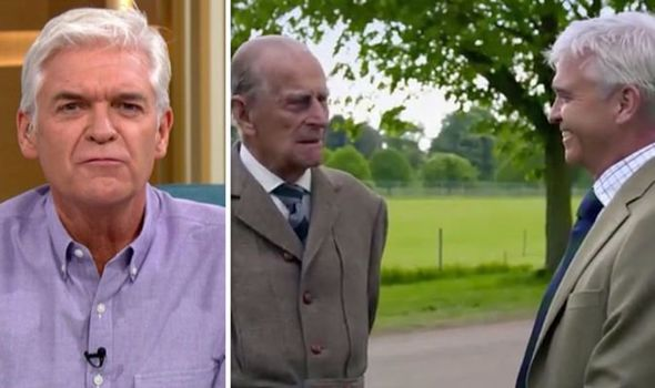 Photo of Phillip Schofield reveals hilarious moment Prince Philip called him an 'idiot'