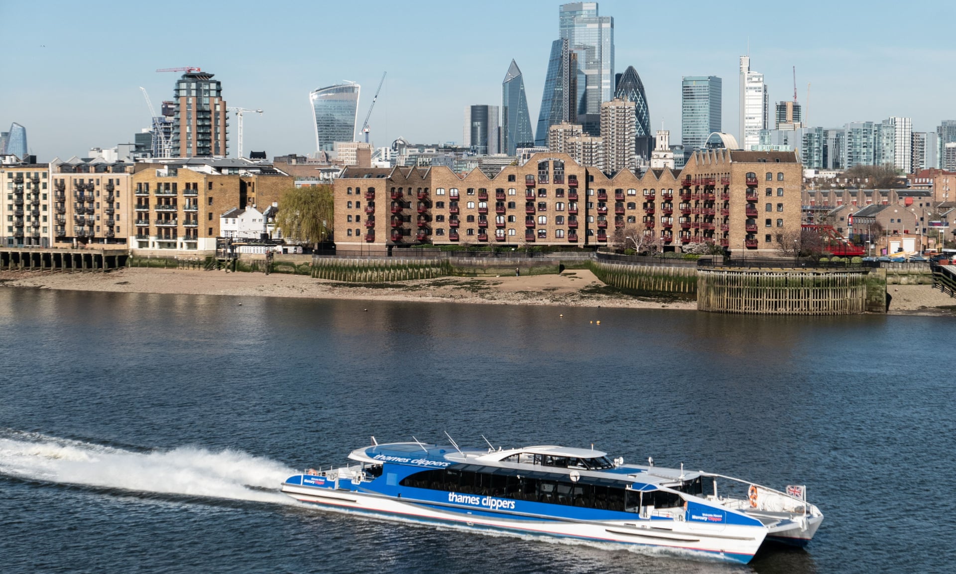 Photo of Uber to launch London commuter boat service with Thames Clippers