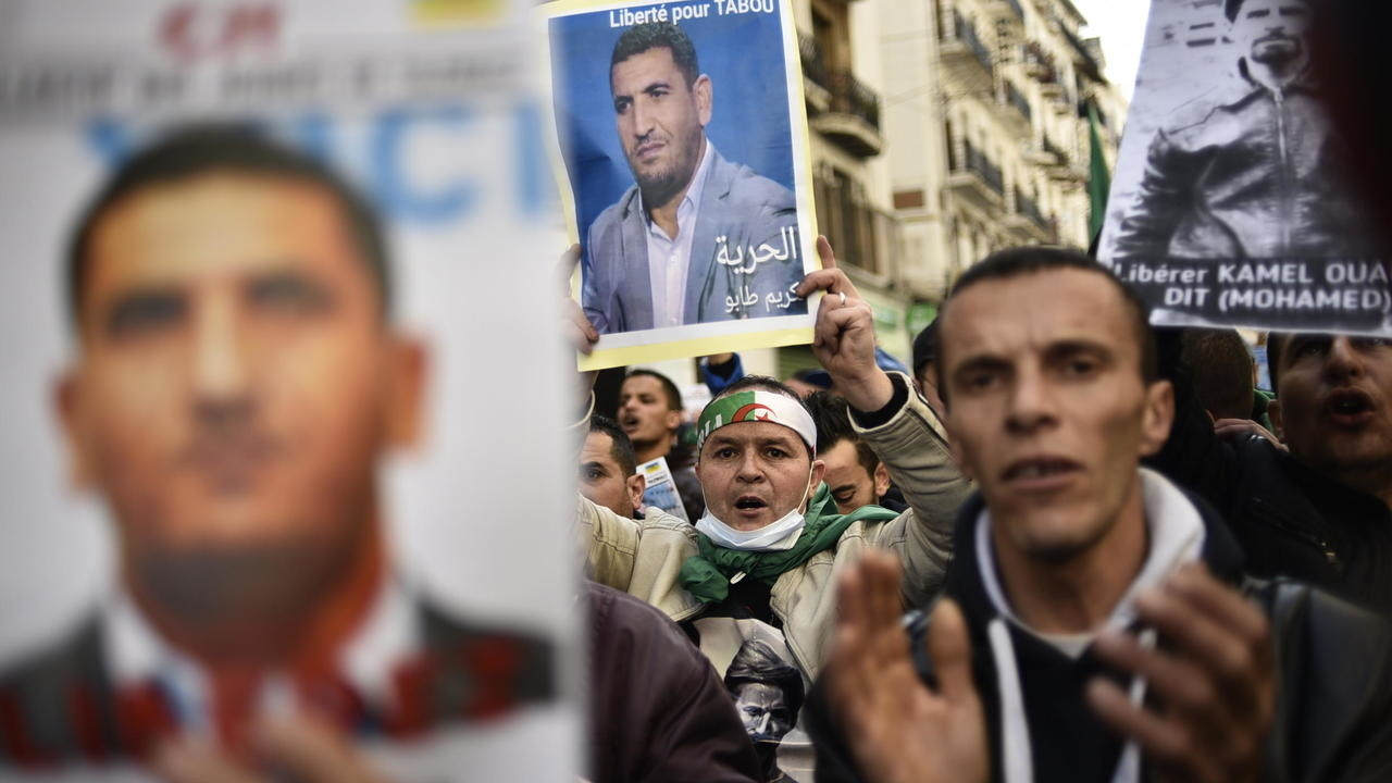 Photo of Algerian court grants release of anti-government protest leader Karim Tabbou
