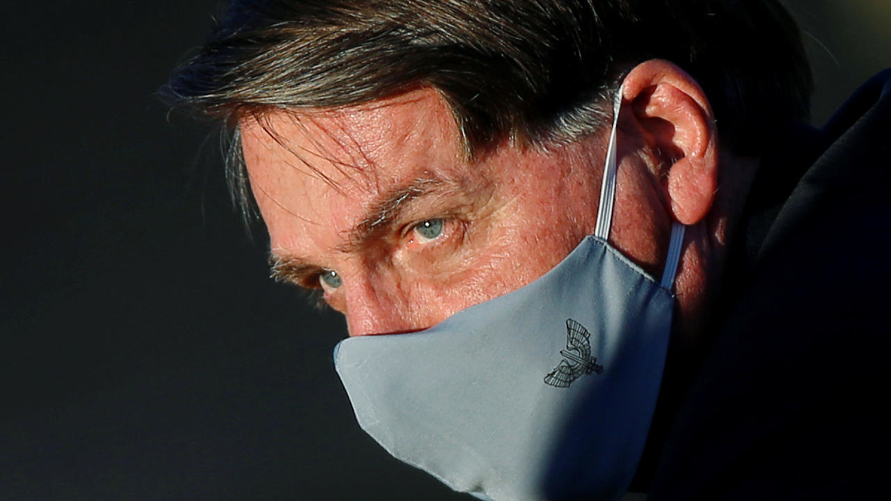 Photo of Brazil's Bolsonaro takes Covid-19 test after showing symptoms