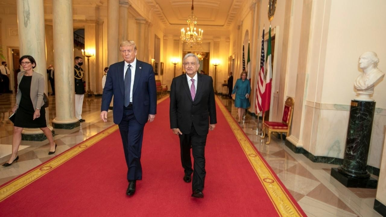 Photo of Mexican president lauds Trump despite past threats, insults against Mexicans