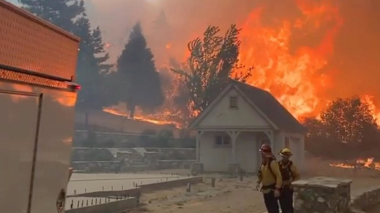 Photo of Raging wildfires almost destroy towns in California, Oregon and Washington