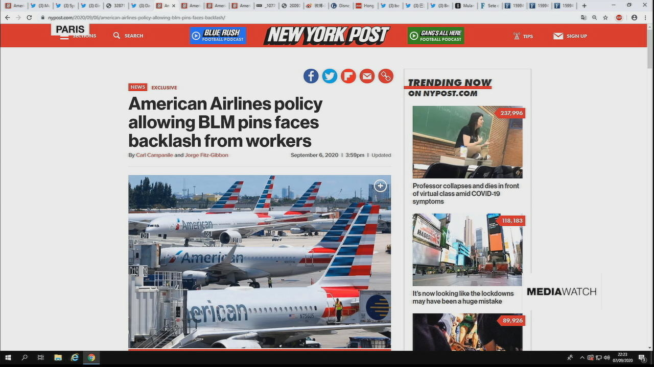 Photo of American Airlines receives backlash for new Black Lives Matter policy