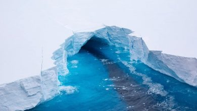 Photo of A68a iceberg: Science mission to investigate frozen giant