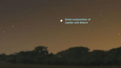 Photo of Christmas Star 2020: What time to see great conjunction of Jupiter and Saturn tonight