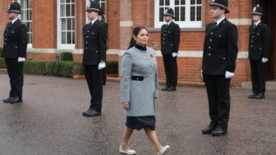 Photo of Priti Patel backs tough police crackdown on nation's lockdown rule breakers