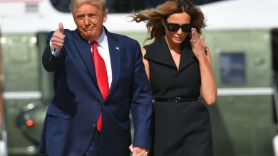 Photo of Melania Trump Doesn't Mention Donald Trump In Happy Valentine's Day Posts
