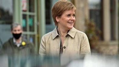 Photo of Nicola Sturgeon rumbled as maps shatter SNP's link between Brexit and independence