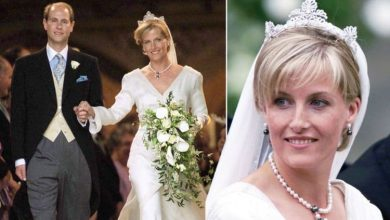 Photo of Sophie Wessex wore wedding dress & tiara different from other royals: 'It was a surprise'