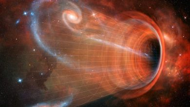 Photo of SCIENTISTS SEE LIGHT FROM THE OTHER SIDE OF A BLACK HOLE FOR THE FIRST EVER TIME