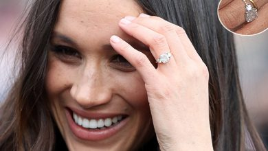 Photo of Kate's £350k engagement ring 'iconic' but Pippa's more 'traditional choice for princess'