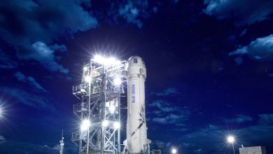 Photo of BLUE ORIGIN LAUNCH TIME: WHEN DOES NEW SHEPARD ROCKET BLAST OFF TODAY?